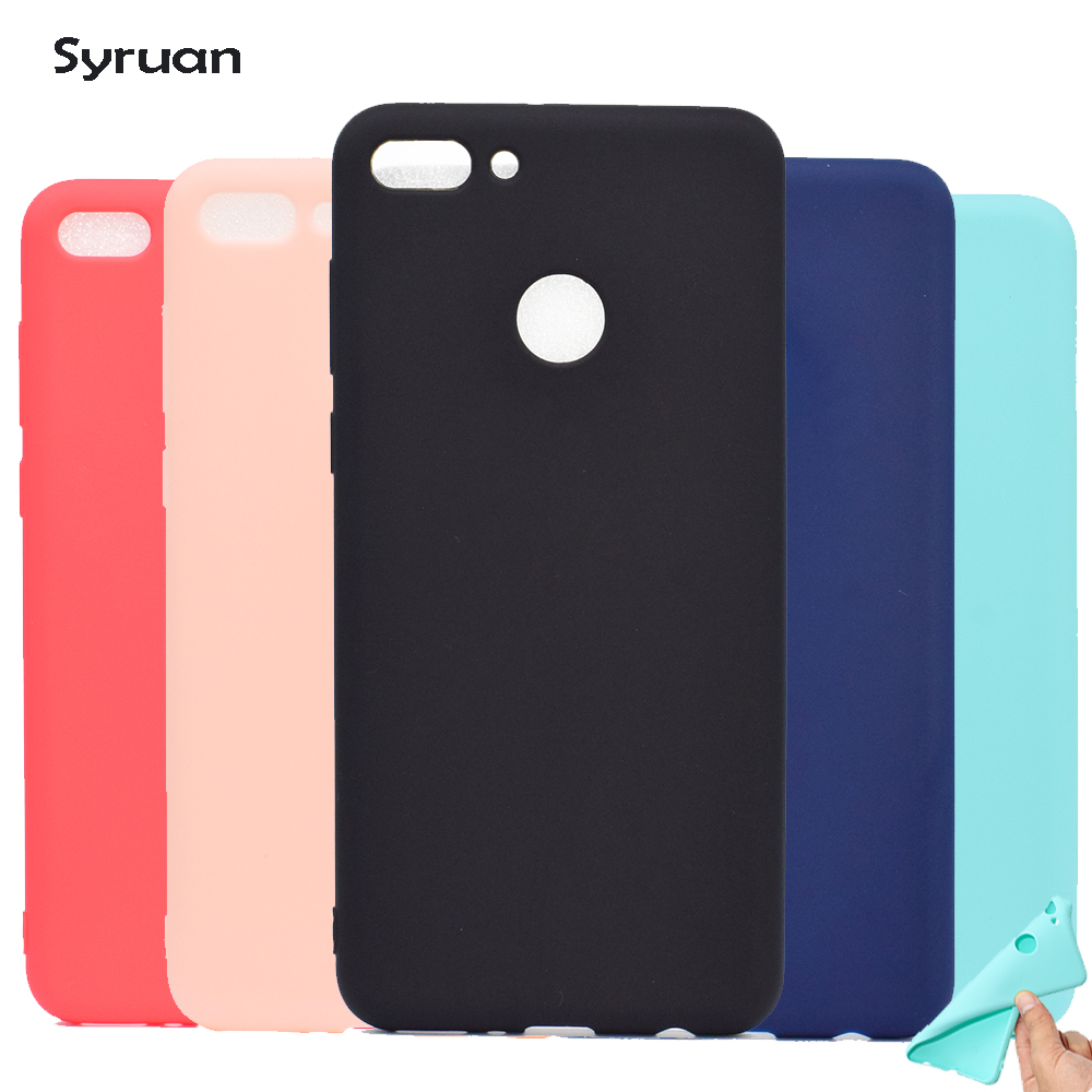 Huawei Y9 2018 Silicone Cases on for Fundas Huawei Y9 2018 case Soft TPU Back Cover sFor Coque Huawei Y9 18case Phone Case cover