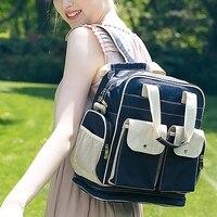 Fashion Mummy Maternity Multi Pockets Shoulder Bag Travel Backpack Nappy Diaper Large Capacity Backpack
