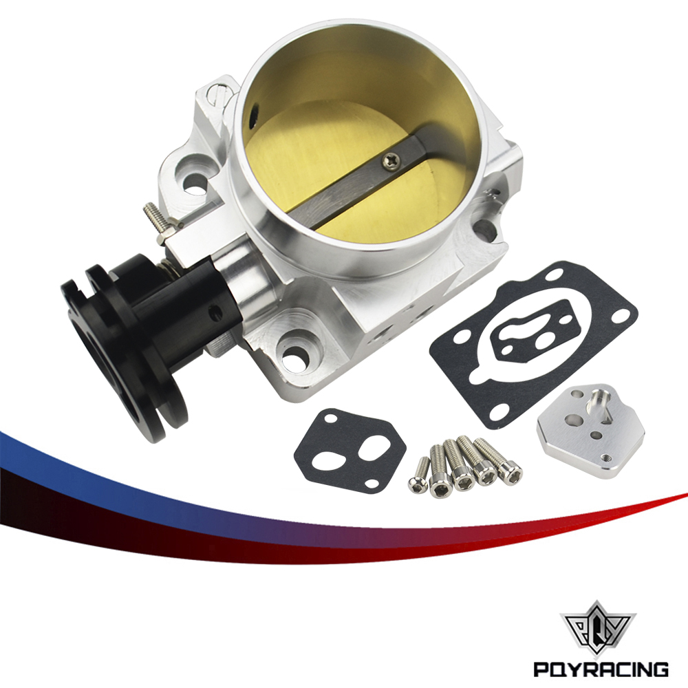 PQY RACING - 64mm Pro Series Throttle Body For 99-05 Mazda MX-5 Miata BP-4W BP-Z3 NEW PQY-TTB20S lzone racing new throttle body for rsx dc5 civic si ep3 k20 k20a 70mm cnc intake throttle body performance jr6951