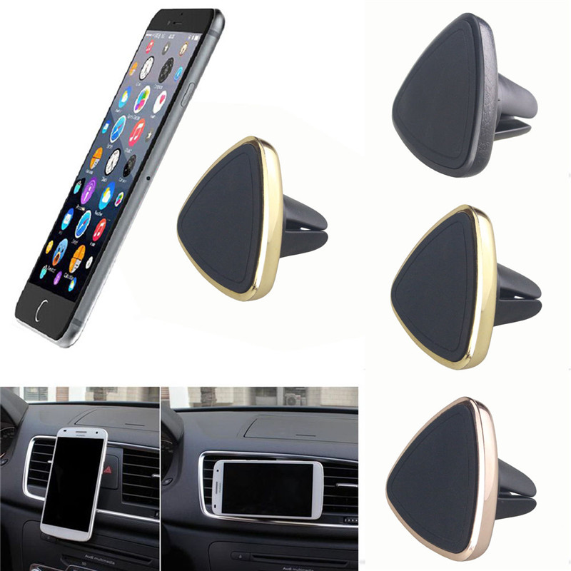 100pcs Universal Magnetic Car GPS Holder Air Vent Cradle Stand 360 Rotation Mount Holder For iPhone Samsung Cell Phone