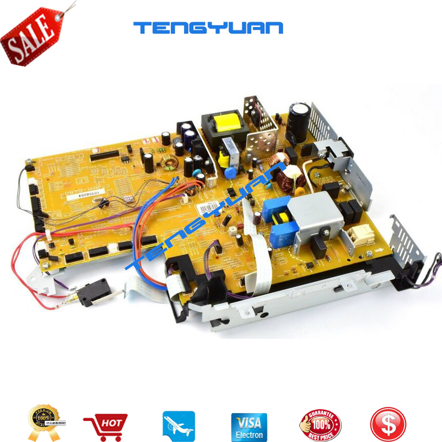 100% test original for HP P3015 Power Supply Board (ECU) RM1-6481-000CN RM1-6481 (220V) RM1-6480-000CN RM1-6480 (110) Printer