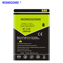 WONKEGONKE para Leagoo M5 Edge BT-518 batería(China)