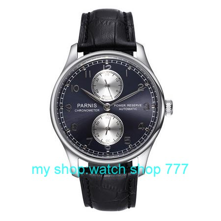 43mm PARNIS energy shows Asian ST2530 Automatic Self Wind men s watch high quality Business watch