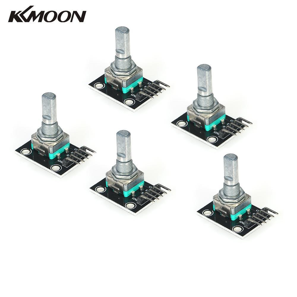 5v 5pcs 360 degree rotary encoder module brick sensor development switch for arduino