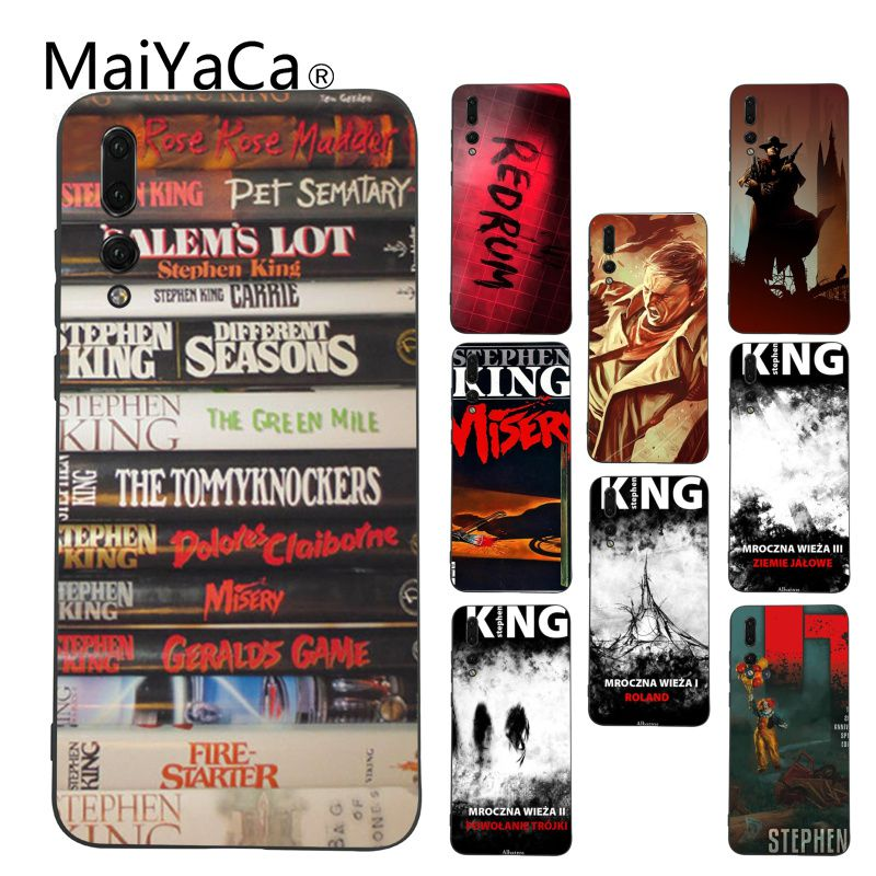 MaiYaCa Stephen King Books Coque Shell Phone Case for Huawei P9 P10 Plus  Mate9 10 Mate10 9b1bb593c7f3