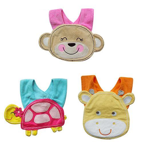 1Pc Baby Kids Infant Cute Cartoon 3D Animal Bib Lunch Soft Saliva Towel