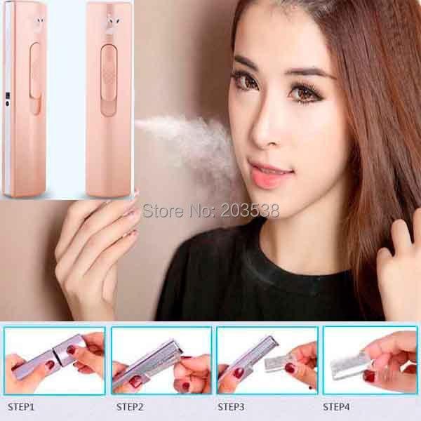 Portable USB Rechargeable Nano Face Handy Mist Sprayer Humidifier Facial Moisture Handheld Nanometer Beauty Spray Apparatus