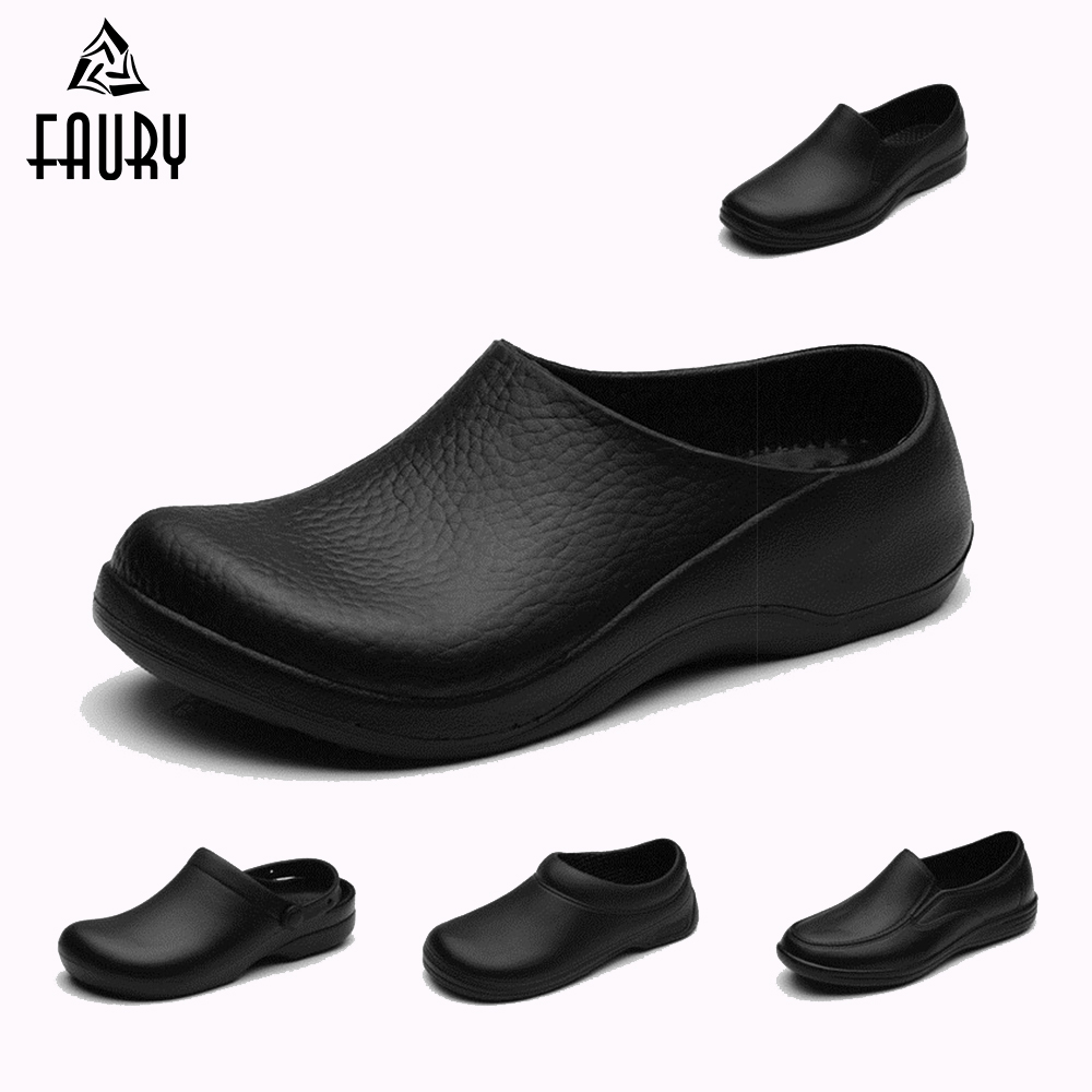 Women/'s Chefs Shoes Kitchen Nonslip Shoes Safety shoes Oil-Proof and Water-Proof