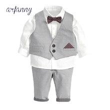 TH autumn dress, handsome boy, gentleman waistcoat, shirt four pieces