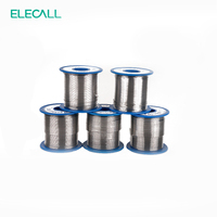 ELECALL New Arrival 41SN Pure Tin 1.5mm 450g Rosin Core Tin/Lead Rosin Roll Flux Reel Lead Melt Core Soldering Tin Solder Wire