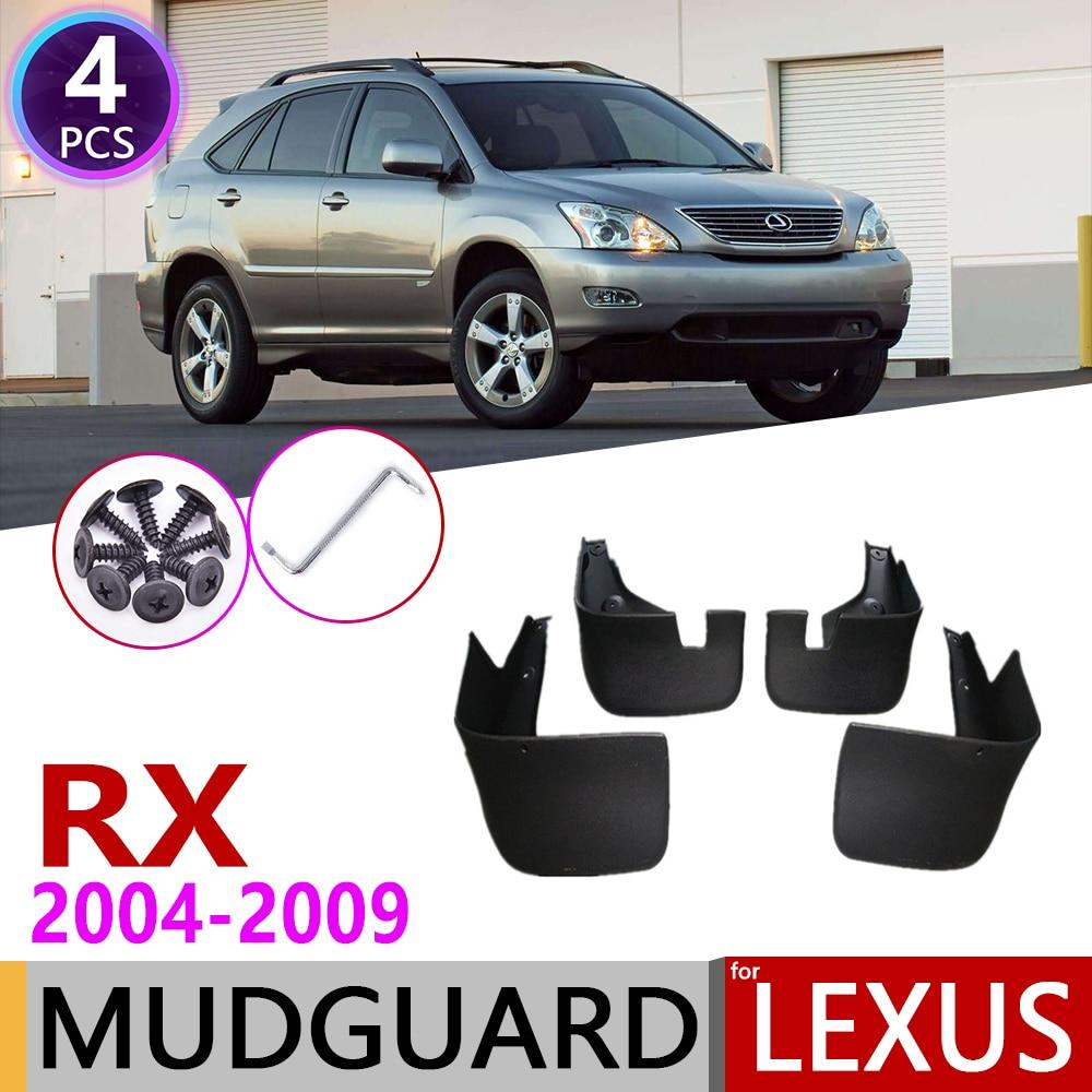 Mudflap For Lexus RX RX300 RX330 RX350 RX400h 2004~2009 Fender Mud Guard Splash Flaps Mudguards Accessories 2005 2006 2007 2008