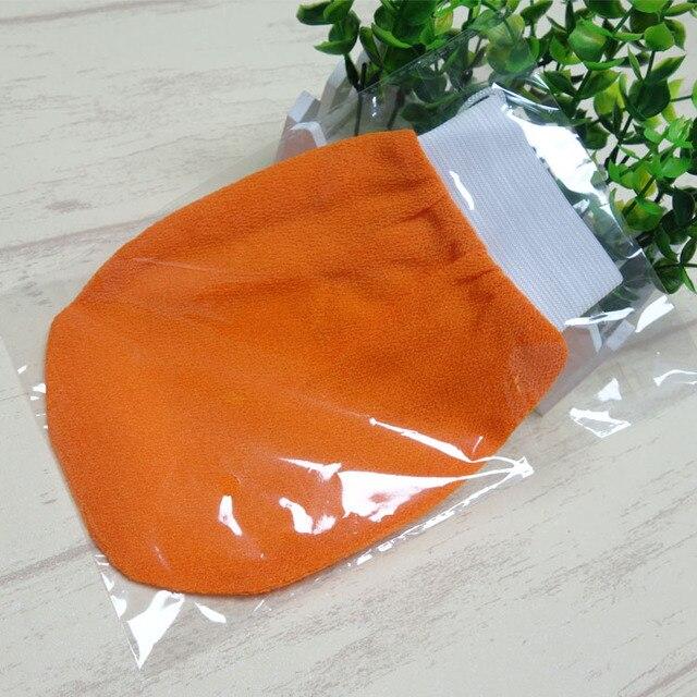 1 pz Colore Arancione Esfoliante Guanto Kessa Scrub Guanto Preparazione Doccia S