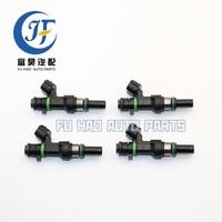 4X Fuel Injectors For Nissan Versa 1.6L HR16DE 16600 ED000 FBY1160 16600ED000 OEM