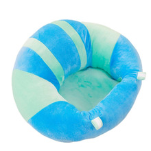 Baby Support Sofa Plush Soft Baby Seat Infant Learning To Sit Chair Keep Sitting Posture Comfortable Pillow For 0-6 Months Baby