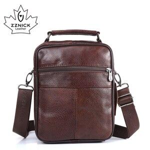 Image 3 - ZZNICK sacs à main Ipad pour hommes, sacoche en cuir de mouton, sacoche à bandoulière, sac de voyage pour hommes, 2017