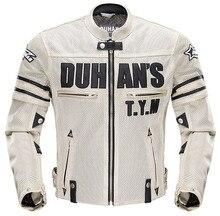 Для honda motors Летние спортивные дышащий костюмы полиэфирного волокна чистая сетки дизайн мотоцикл амуниция падение доказательство одежда