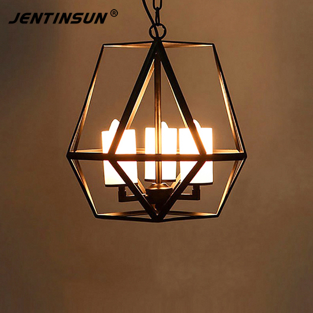 American retro pendant lights industrial loft style wrought iron american retro pendant lights industrial loft style wrought iron cages candelabra candle hanging light lamp for aloadofball Choice Image