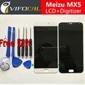 Для Meizu MX5 ЖК-Дисплей + Сенсорный Экран + Инструменты FHD высокое Качество Замена Digitizer Ассамблеи Для Meizu MX 5 Мобильного Телефона