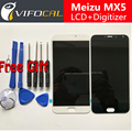For Meizu MX5 LCD Display + Touch Screen + Tools FHD High Quality Digitizer Assembly Replacement For Meizu MX 5 Mobile Phone