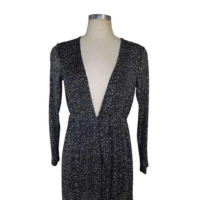 placeholder MUXU vestido de festa sexy long dress black glitter dress  vestidos mujer robe sexy elbise long 3eac613e529a