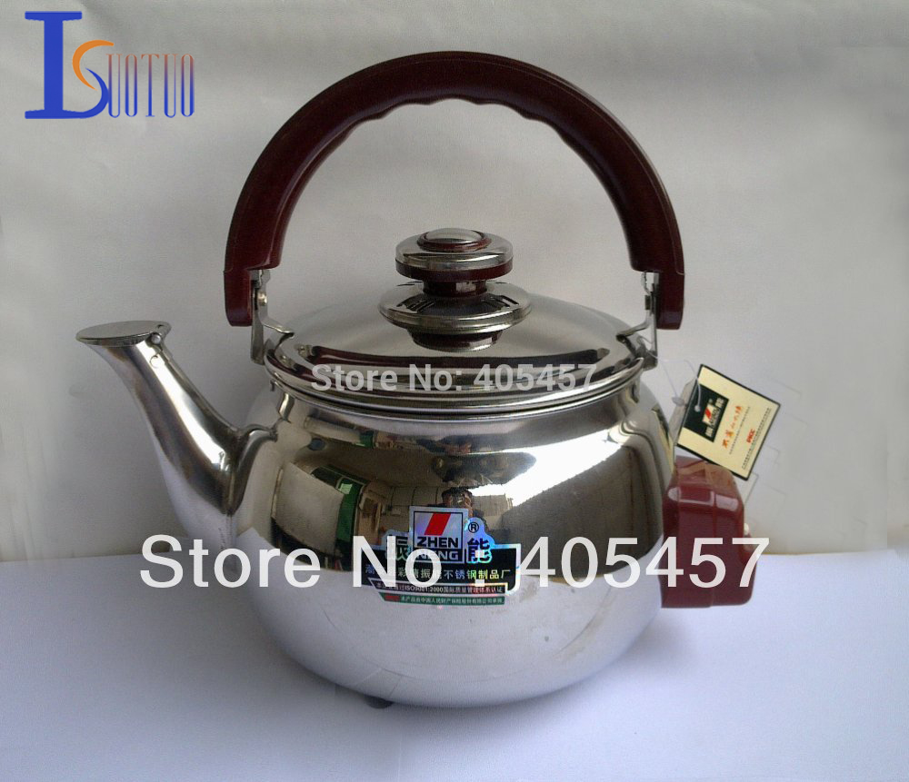 free shipping  prevent dry burn singing sound stainless steel electric kettle 6.0L