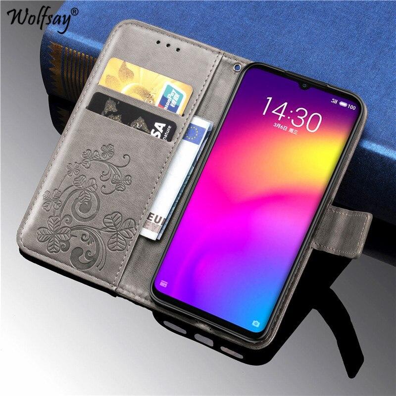 Meizu Note 9 Case Luxury Silicone Filp Wallet Phone Case Meizu Note 9 Back Cover Meizu Note 9 Meilan Note 9 Card Holder Fundas