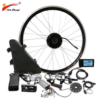 36V 250W 500W Electric Bike Conversion kit with Battery Front Gear Hub Motor Wheel ebike Bicycle Electric e Bike Conversion Kit