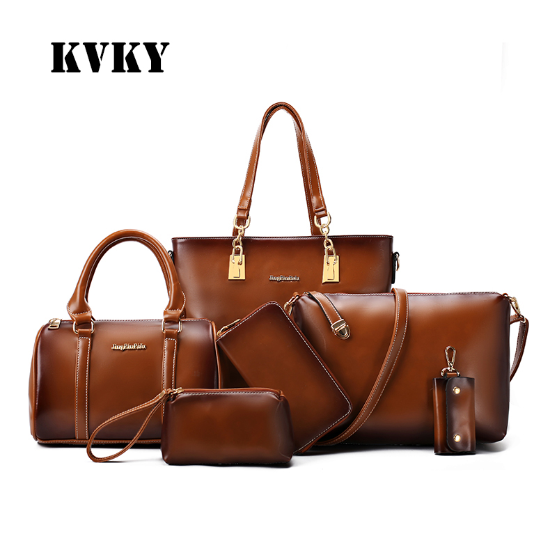 Sky fantasy fashion PU 6 in1 vintage high quality classic Composite women shoulder bag vogue crossbody messenger casual tote lcl 220xl 220 xl 4 pack bk c m y ink cartridge compatible for lexmark officeedge pro4000c pro4000 pro5500 pro5500t