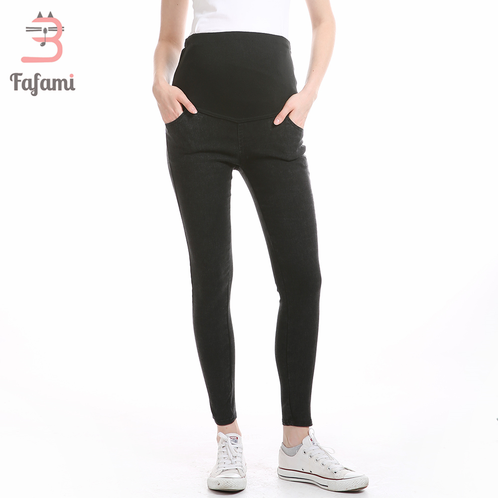 цена на Maternity Jeans Skinny Pants Capris for pregnant women Plus High waist leggings pregnancy clothes winter maternity clothing