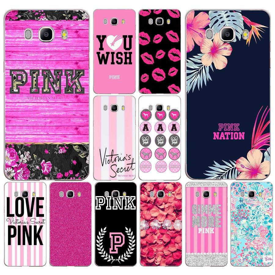 213DD secret pink letters love pink design Case Cover for Samsung ...