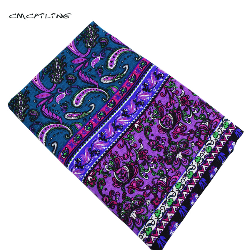Cmcyiling printed cotton linen fabric for quilting sewing for Cloth material for sewing