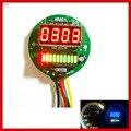 New Universal 2 função 12 v carro motocicleta medidor de óleo medidor de tacômetro LED indicador de nível de óleo