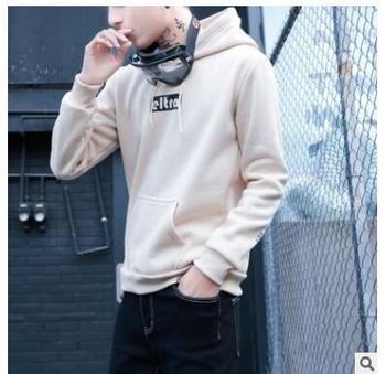 Fashion joker 2018 fall new style hoodie man popular logo cover and hoodie garment men's clothing manufacturers direct t357