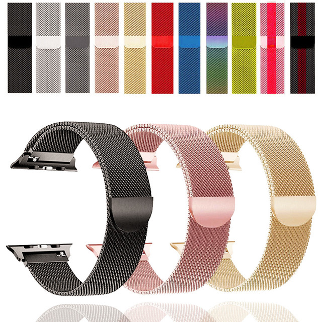 Loop strap For Apple Watch band correa apple watch 4 band 44mm iWatch