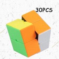30 шт. ShengShou Gem 2x2x2 магический куб Professional speed Twist головоломка Cubo Magico обучающие игрушки для детей Классические игрушки подарки