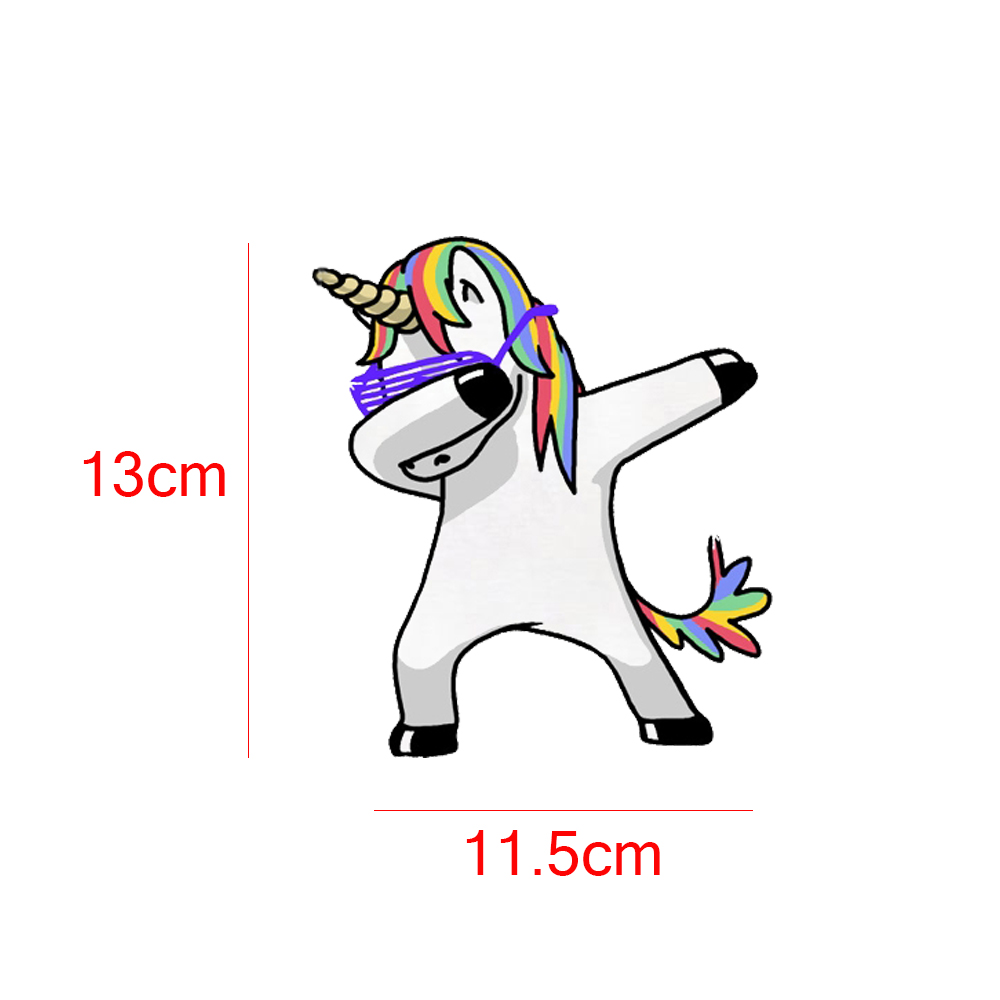 New Lovely Unicorn Car Sticker Styling Cartoon Decals