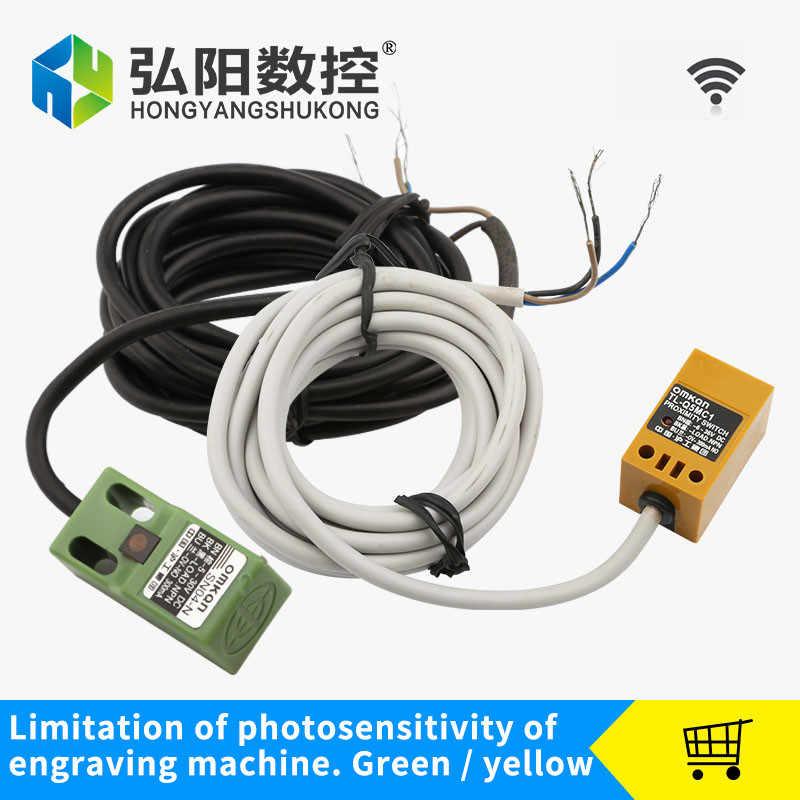 Npn Batas Sensor Ukiran Mesin Aksesoris Switch Batas Tipe Kecil Pembatas Stopper CNC Router Bagian Proximity Sensor