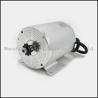 MY1020 upgraded brushless motor BM1109 Bike motor 72V 3000W Electric ATV electric bicycle electric motorcycle modified DC motor