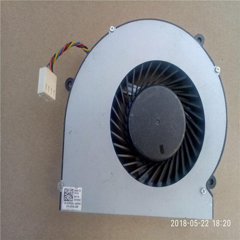 VENTOLA di raffreddamento PER SUNON EFB0151S1-C010-S99 Dell Inspiron 24 5459 All-In-One Desktop Ventola di Raffreddamento della CPU DYKW1