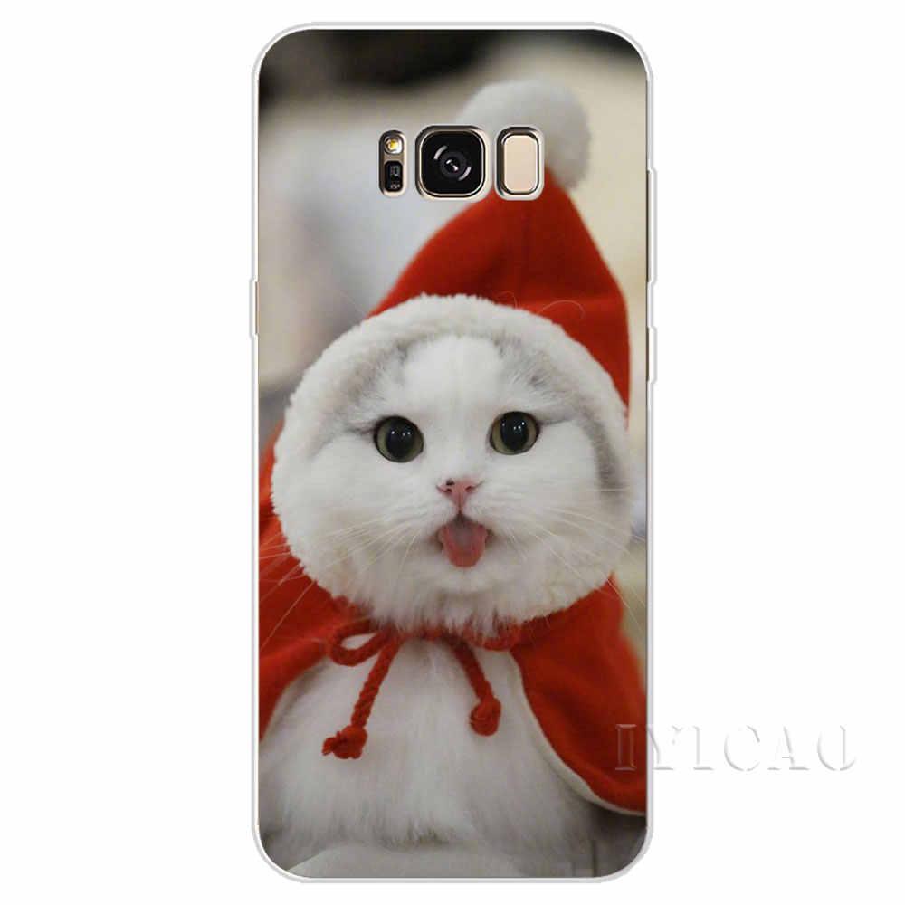 IYICAO маленькое животное Кот Твердый чехол для Samsung Galaxy A3 A5 2015 2016 2017 A6 A7 A8 A9 плюс 2018 чехол для телефона