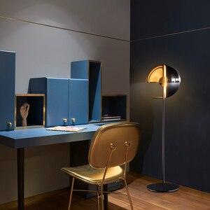 Image 4 - LED חדר קומת מנורות סלון עומד תאורת נורדי הפוסטמודרנית רצפת אורות בית דקו גופי