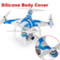 DJI Phantom 3 Pro Adv Standard Body Protect Waterproof Dustproof Silicone Fuselage Cover Blue&White
