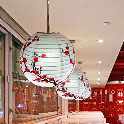 Lamp shade plum blossom paper lantern light chinese round oriental lamp shade plum blossom paper lantern light chinese round oriental decor party supplies in party masks from home garden on aliexpress alibaba group aloadofball Gallery