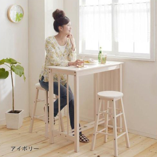 Bar Tables Wood Small Coffee Breakfast Table Home Stool Chair Parlor