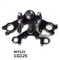 CG125 JH70 WY125 Retro refitted Widened Column Kit for 120 Tyres