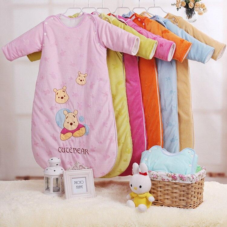 New Children Sleeping Bags Autumn  Section Of Cotton Baby Sleeping Bags Pure Cotton Sleeping Bags Baby Sleeping B