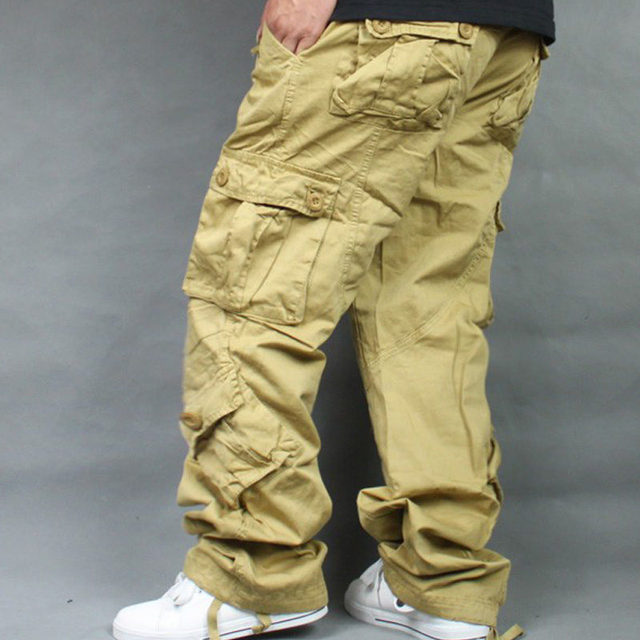 Pants Overalls Hip Hop Men's Cotton Trousers Hiphop Men Baggy Casual Pants Mens Bottoms Camouflage