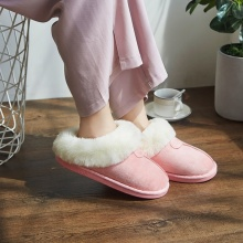 Winter Slippers Comfortable Non-slip Warm Home Indoor Outdoor Floor Shoes Rubber  winter slippers womens