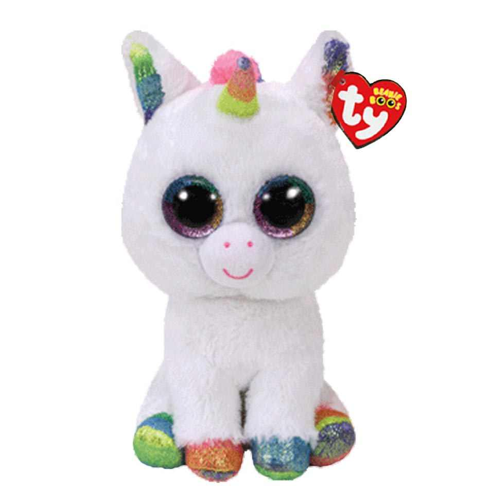 Ty Beanie Boos Stuffed   Plush Animals Pixy The Unicorn Toy Doll 6