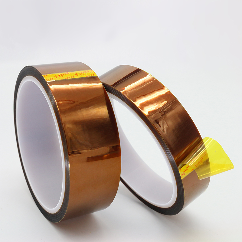 Image 4 - Brown High Temperature Polyimide Insulating Tape Soldering Resistance Battery Circuit Board Tape Transformer Electric-in Tape from Home Improvement